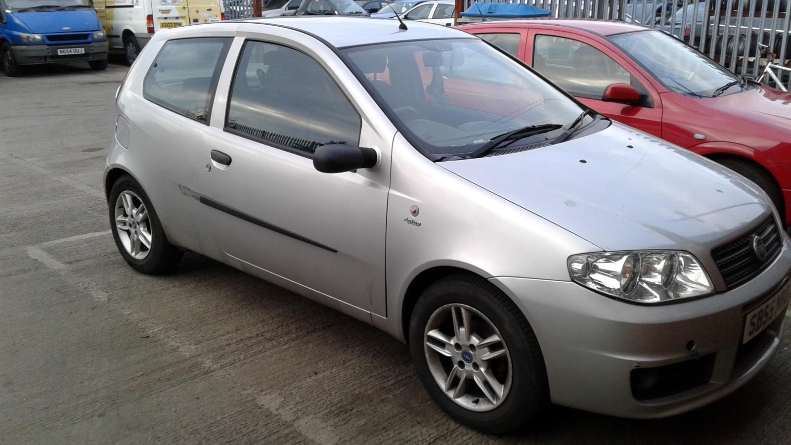 2006 Fiat Punto Mk2 15 U0026quot  Inch Spare 4 Stud Alloy Wheel 5