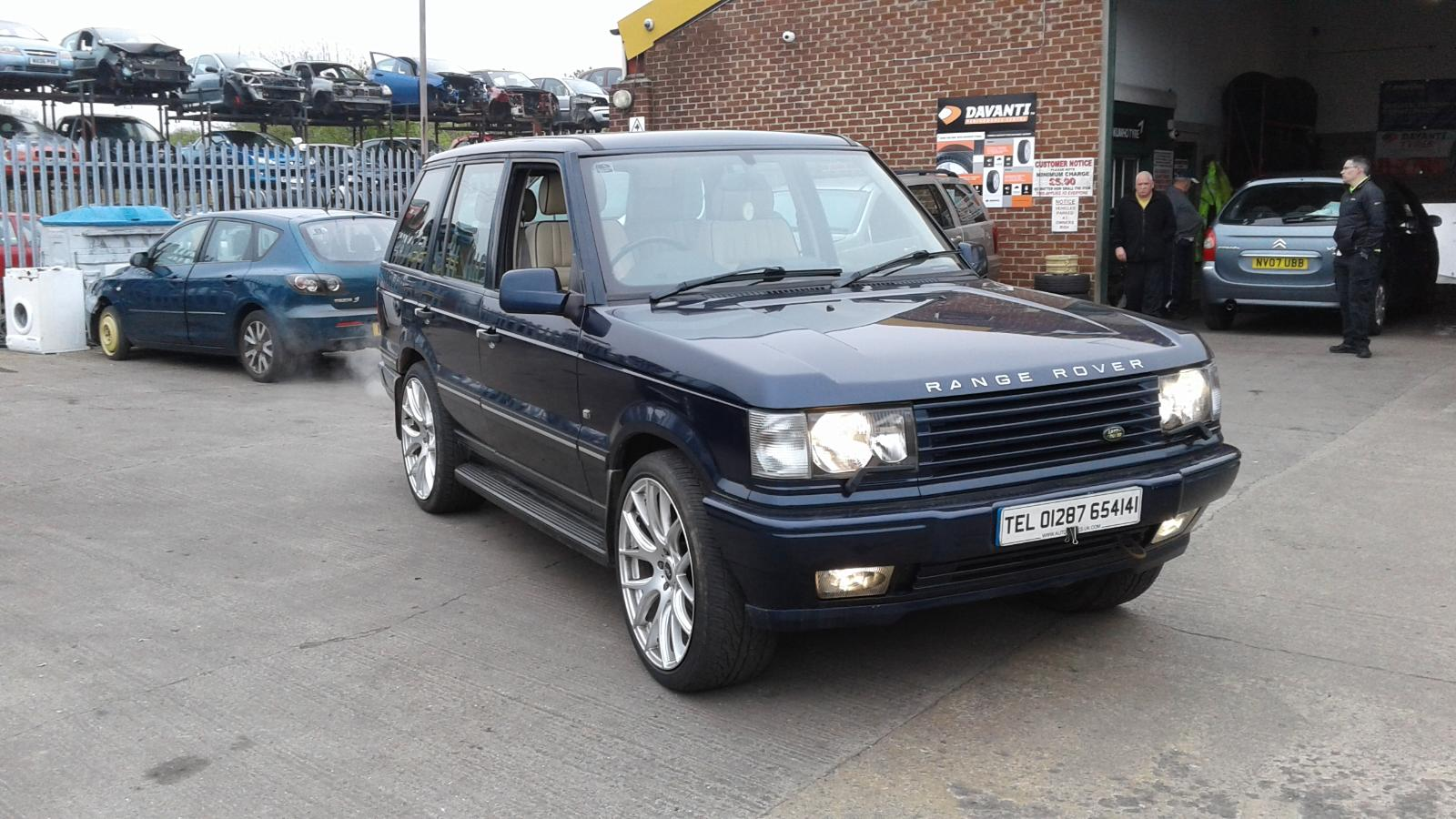 2002 range rover p38 nsf passengers left electric door mirror 644 blue breaking ebay. Black Bedroom Furniture Sets. Home Design Ideas